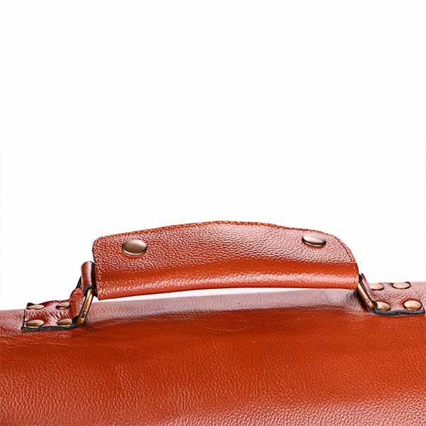 asa de maletin de cuero ejecutivo