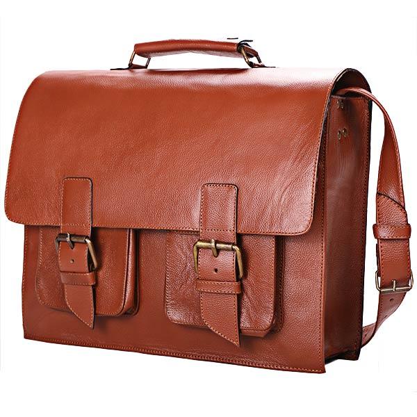 mejor maletin de cuero ejecutivo casual