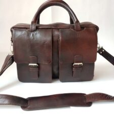 maletin de cuero ejecutivo dos bolsillos (2)